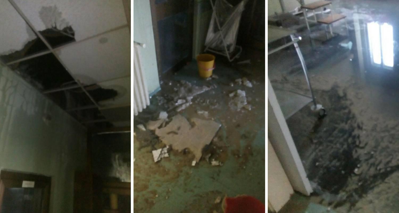 Kaos u Osijeku: Zbog hladnoće pukla cijev, bolnica pod vodom