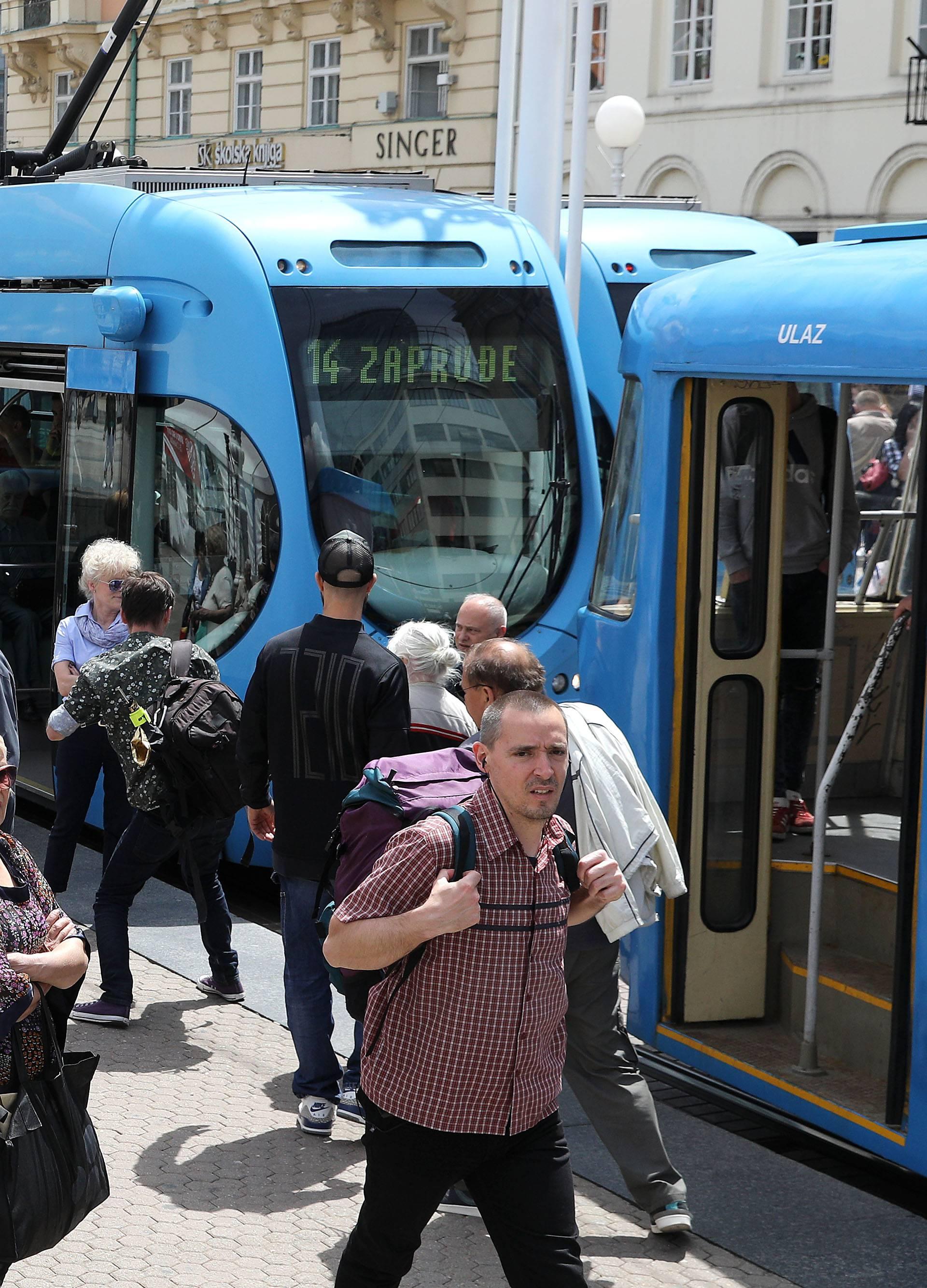 Zbog prijepora oko mirovina: ZET zaustavio javni prijevoz