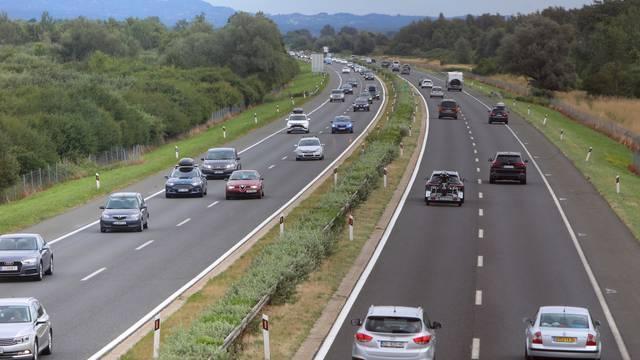 Pojačan promet na autocesti A1 između Zagreba i Karlovca