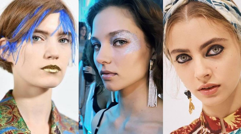 Proljetne kolekcije predstavile i make-up trendove: Metalik teksture i oči uokvirene crnom