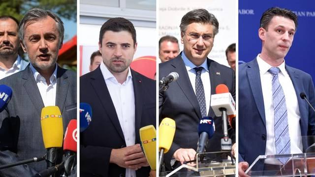 Bernardić, Plenković, Škoro i Petrov kažu da su za debatu