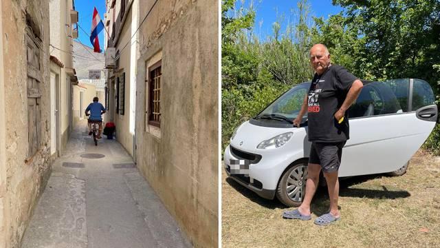 Vlasnik Smarta o kojem priča cijeli Susak: Znam da auto ne smije na otok, ali to su mi kolica
