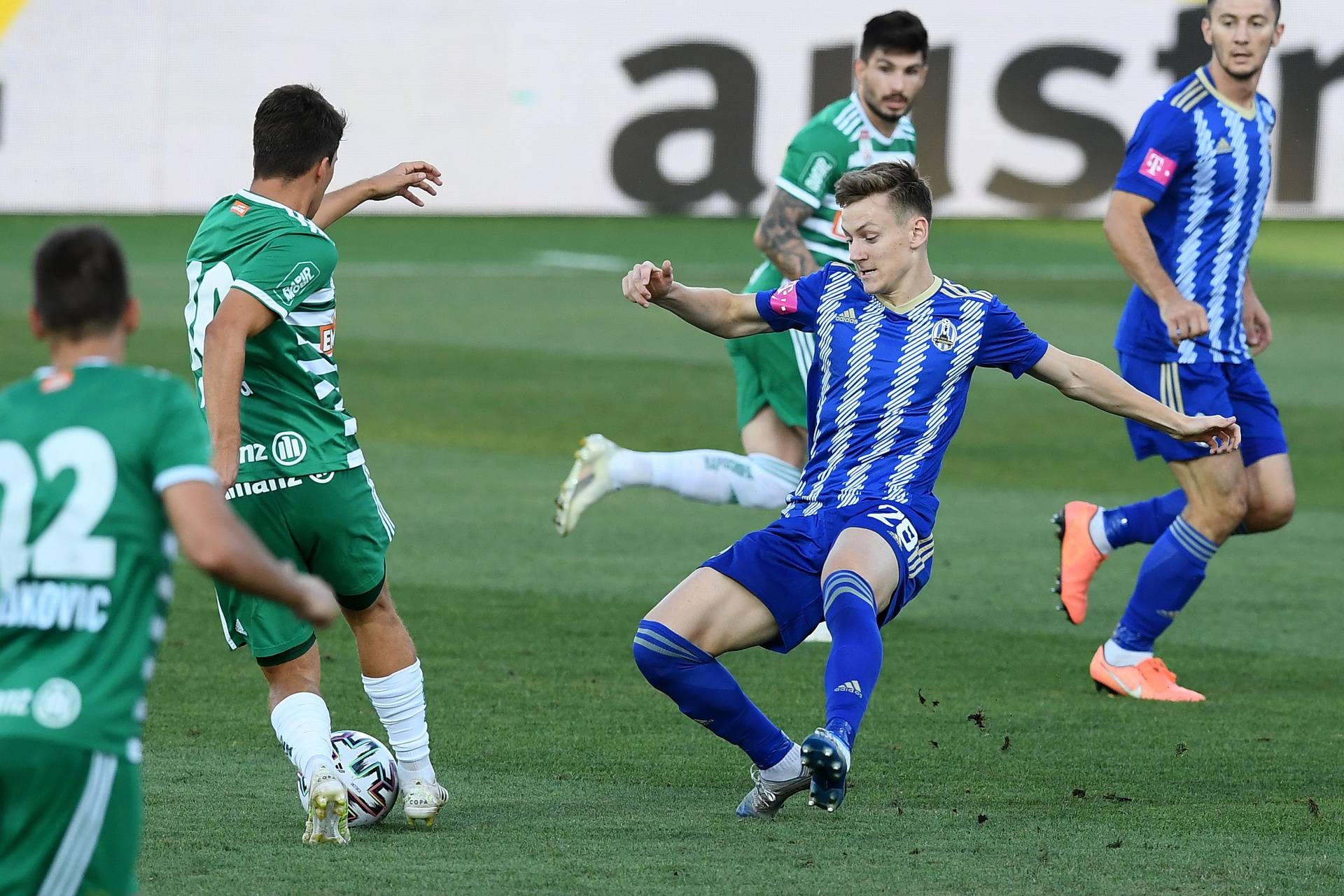 Zagreb: U 2. pretkolu Lige Prvaka Lokomotiva se sastala s Rapidom