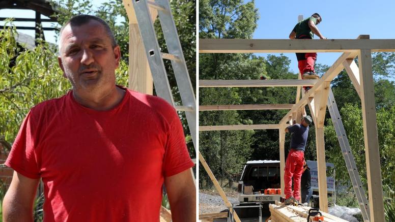 Majstor koji gradi kuće ljudima na Baniji: 'Cijene materijala su poskupile, otišle su u nebo'