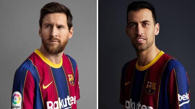 Barcelona ima nove dresove! Messi maneken, nema kockica
