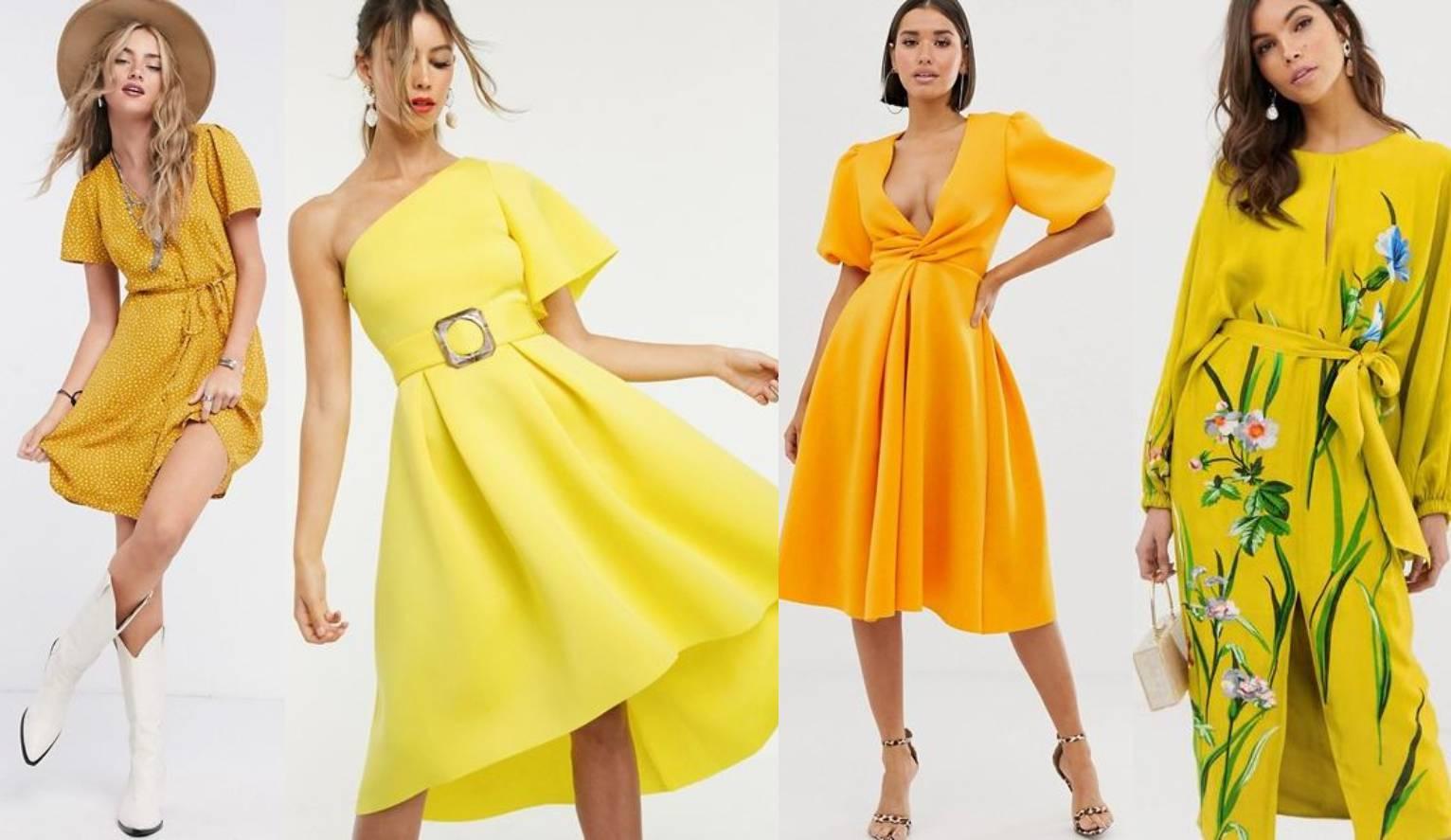 Sunčana, blistava žuta boja kao stilsko osvježenje za kraj ljeta
