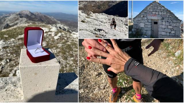 Zaprosio curu na vrhu Mosora, nije se bojao odbijanja: To je na 1300 metara, nije imala di otić!