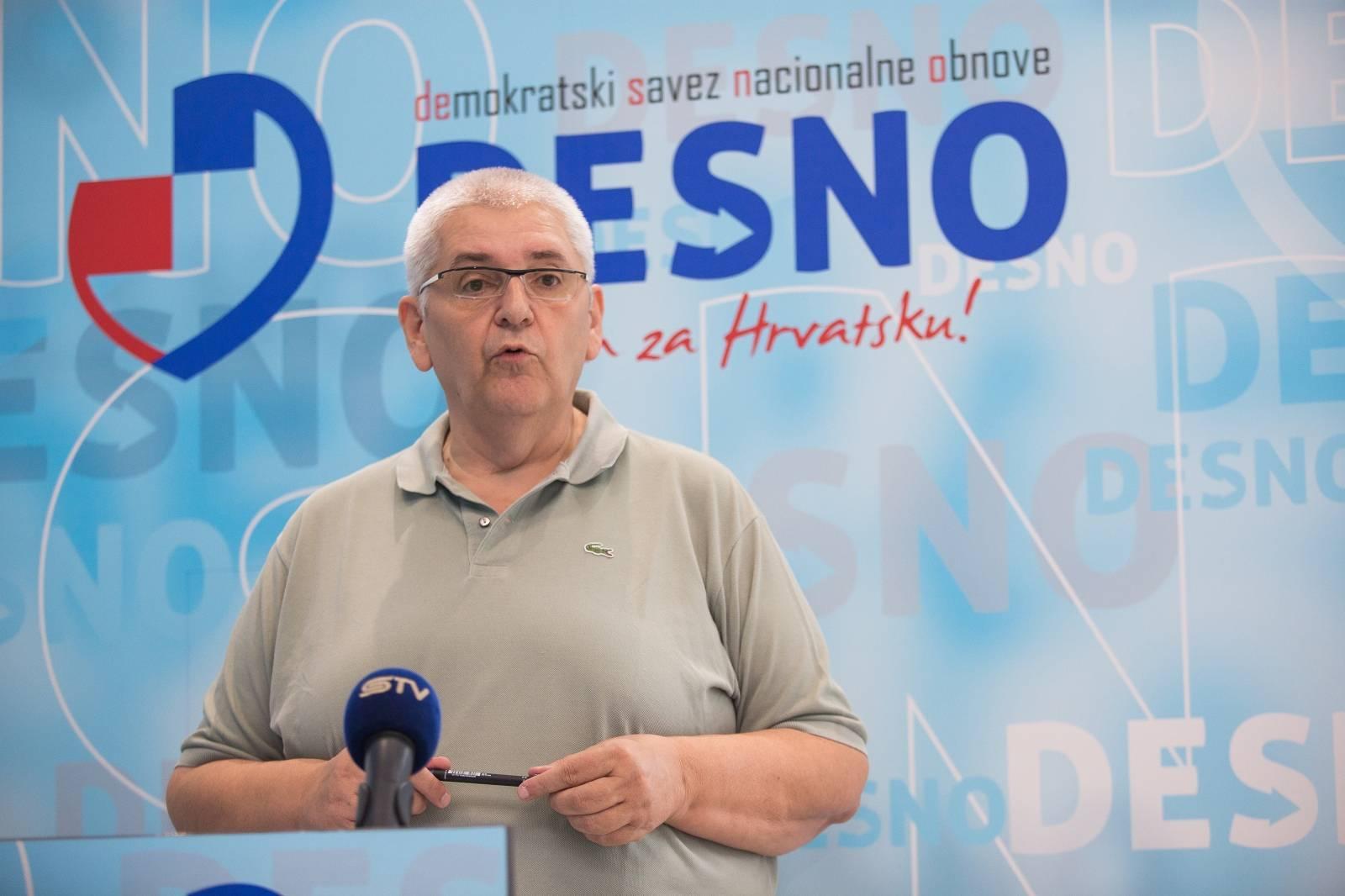 Osijek: Anto Đapić održao konferenciju za medije