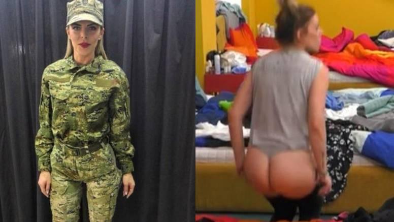 Renata je pokazala stražnjicu: Vojničke vježbe su se 'isplatile'