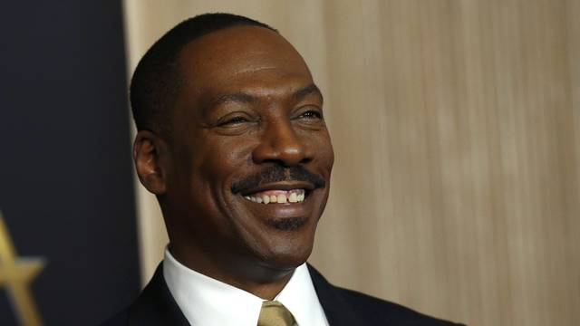 Actor Eddie Murphy arrives  at the Hollywood Film Awards in Beverly Hills