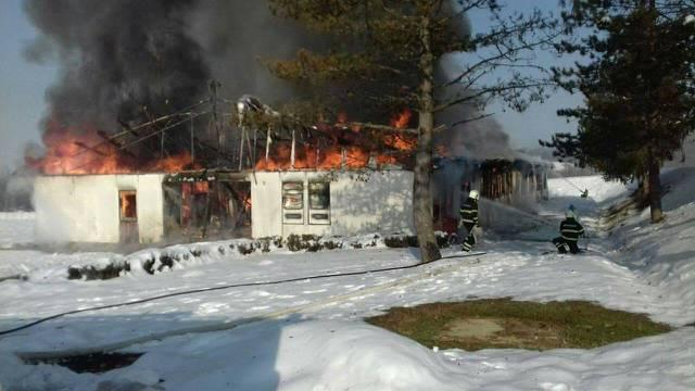 U krugu vojarne izgorjela je baraka, nije bilo ozlijeđenih