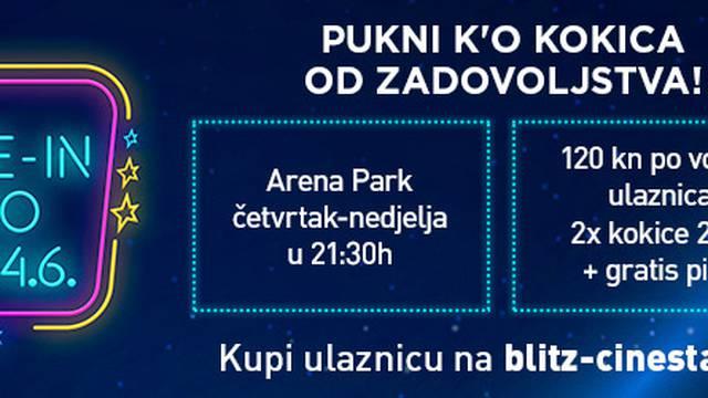 Cinestar uskoro u Zagrebu pokreće 'pop up drive -in' kino