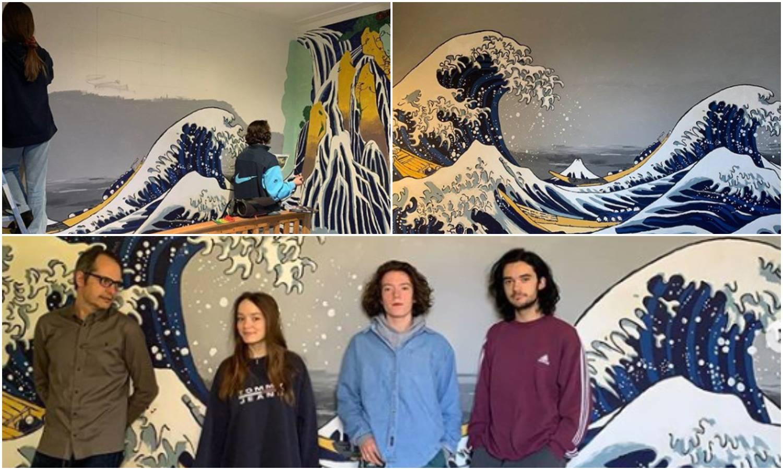 Obitelj oslikala zid sobe sina po uzoru na japansku umjetnicu