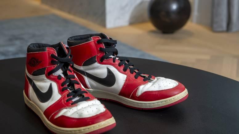 Tenisice Michaela Jordana prodane za milijun kuna