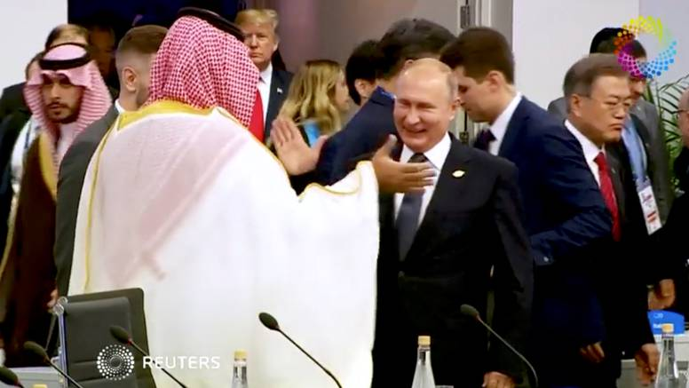 Otvoren Summit G20:  Putin i saudijski princ dali si 'pet'
