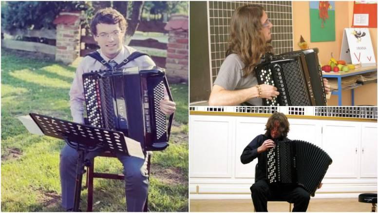 Mladom profesoru glazbe ukrali harmoniku: 'To mi je život i kruh, molim vas da je vratite!'