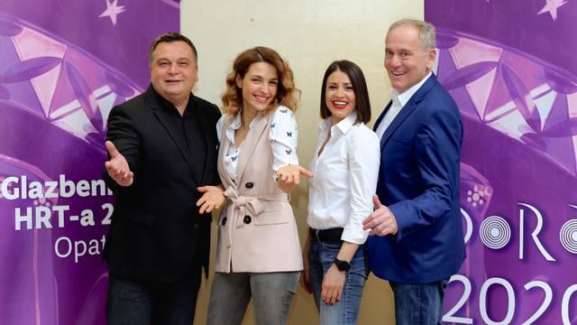 Ovogodišnju 'Doru' vode Doris Pinčić, Fodor,  Zlata i Ćurlić...