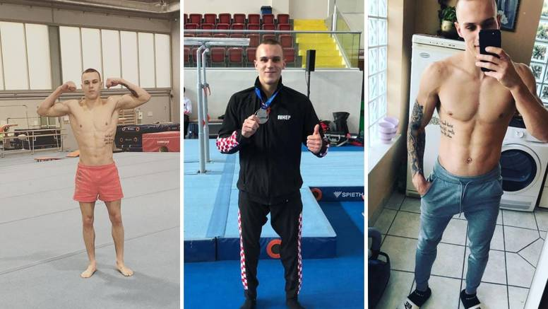 Aurel Benović apsolutna je zvijezda hrvatske gimnastike