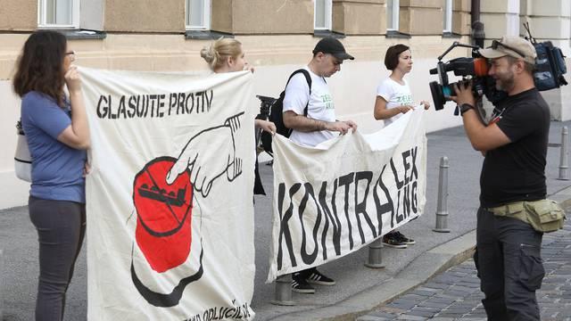 Zelena akcija pred Saborom traži glasovanje protiv lex LNG
