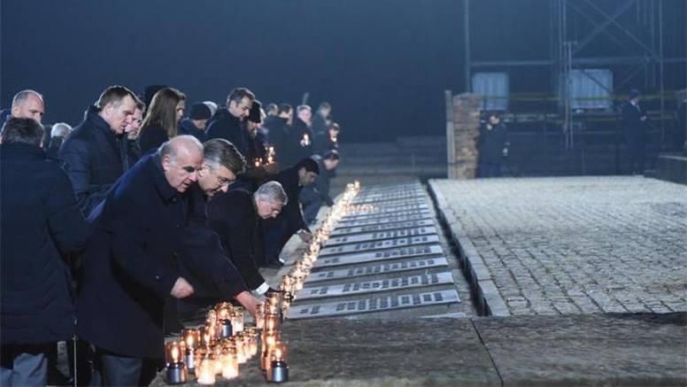 Plenković u Auschwitzu: 'Ovo se više nikad ne smije ponoviti'