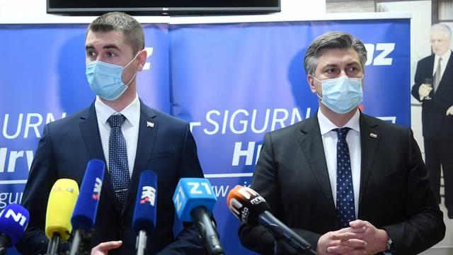 HDZ-ov kandidat za gradonačelnika Zagreba, Davor Filipović, obratio se medijima