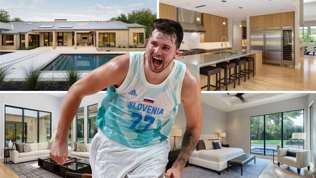 Pogledajte čudesni Dončićev dom od 2,5 milijuna eura...
