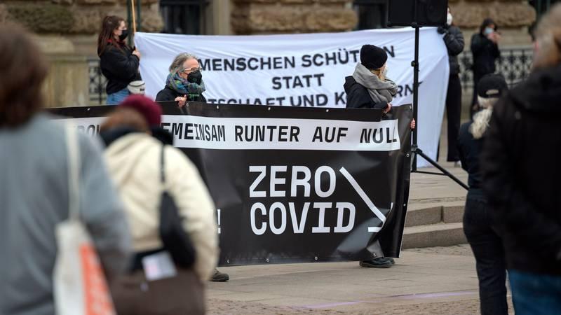 Prosvjed u Njemačkoj: Traže strože mjere i duži lockdown