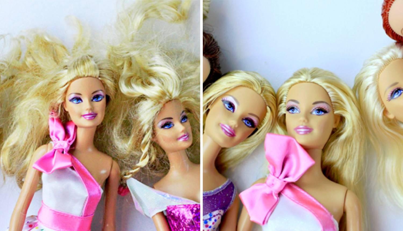 Imate čupavu Barbie sa suhom kosom? Može biti kao nekad!