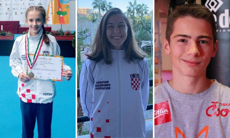 Troje naših taekwondaša uzelo medalju već prvoga dana EP-a