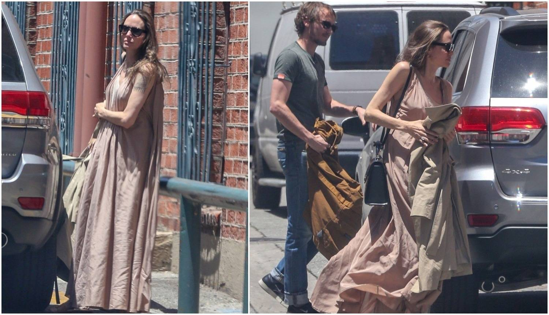 Angelina Jolie se 'zgužvala': Zašto si vreću stavila na sebe?