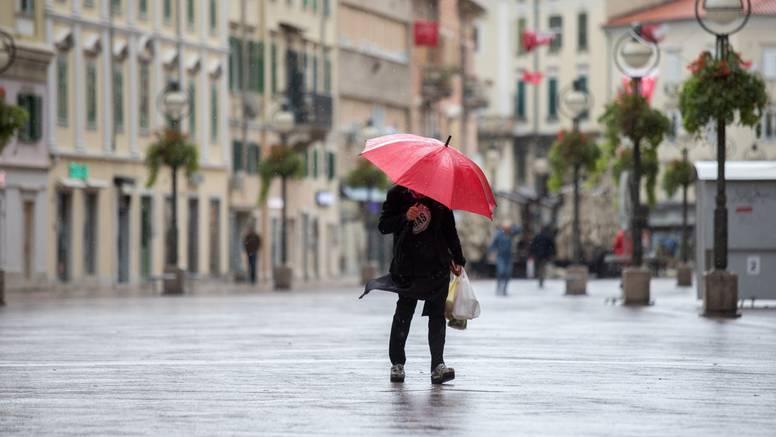 Ne spremajte zimsku odjeću, za vikend stižu kiša, bura i snijeg