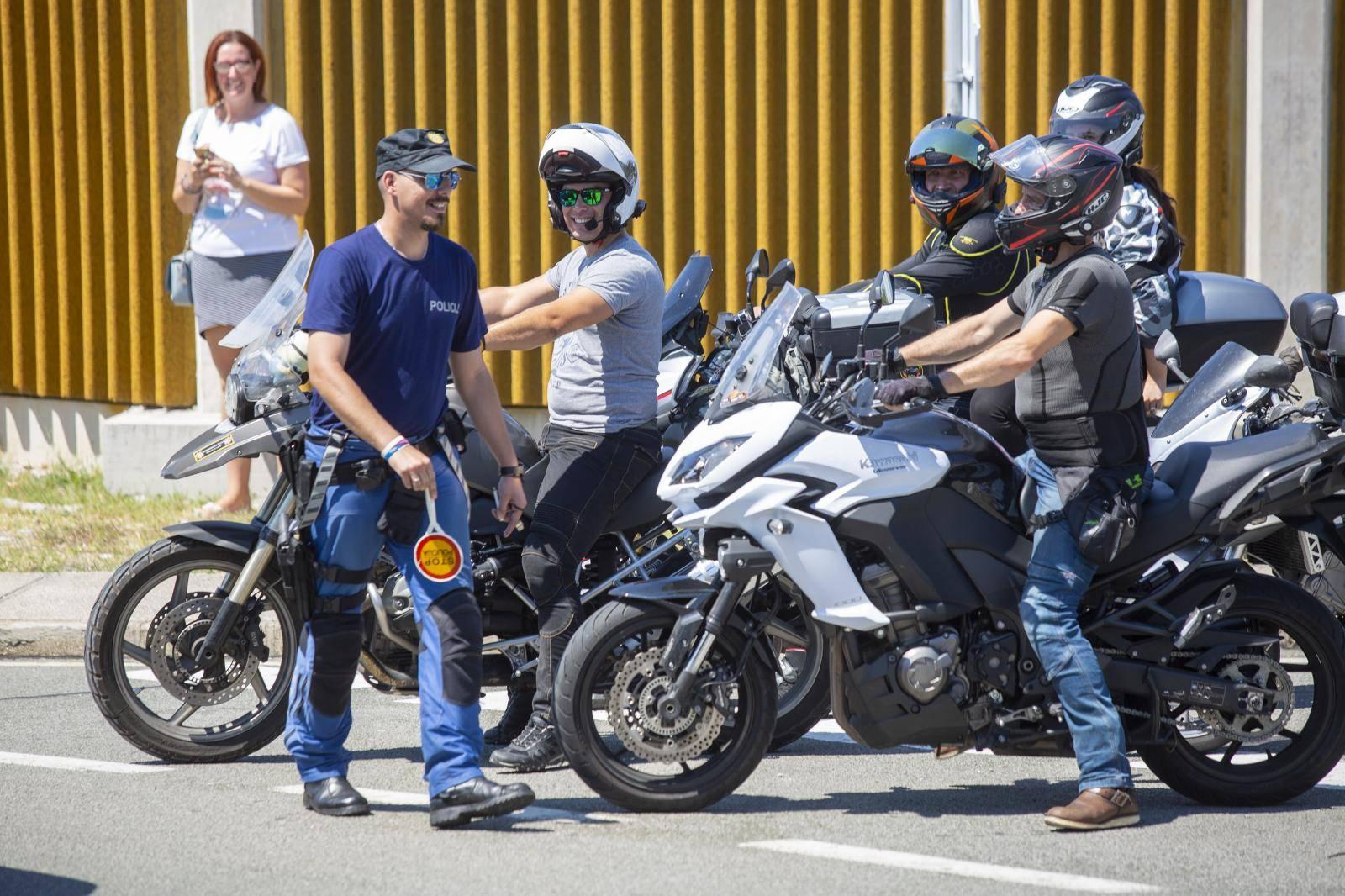 Motociklistima  stižu kazne do 7 tisuća kuna radi prosvjeda