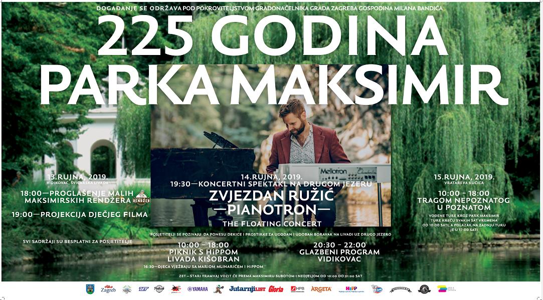 Koncertni spektakl na Dan parka Maksimir