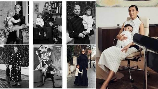 Emilia Wickstead predstavila novu kolekciju kao stylish album majki i njihove djece