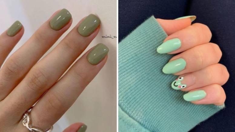Jesenska manikura: Zelena će biti najmodernija boja noktiju