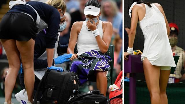 Drama mlade tenisačice: Mučila se s disanjem pa predala meč!