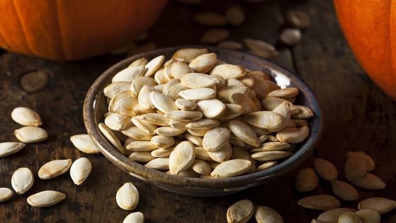 Od bundevinih sjemenki možete napraviti fine, slane grickalice