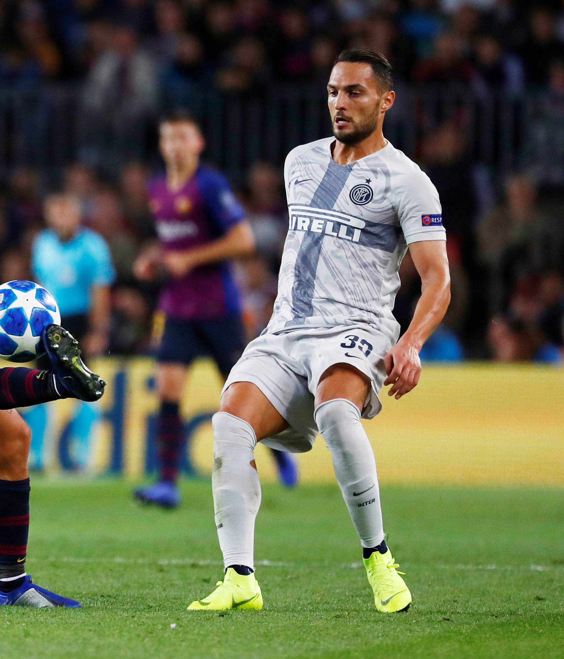 Champions League - Group Stage - Group B - FC Barcelona v Inter Milan