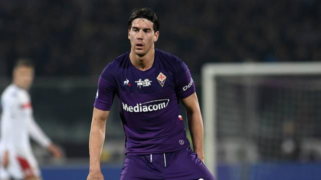 italian Serie A soccer match ACF Fiorentina Italian soccer Serie A season 2019/20