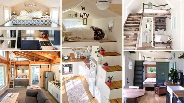 Lijepo i praktično: 20 ideja kako urediti vrlo mali životni prostor