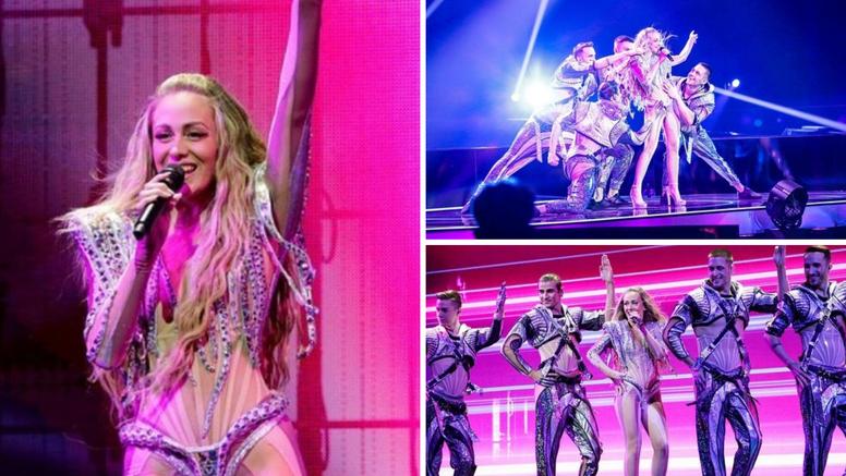 Albina završila drugu probu: Laserski show, plesači, kostimi i četiri holograma u dijelu pjesme