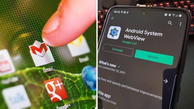 Ruši vam se Gmail i aplikacije na Androidu? Ovako to riješite!