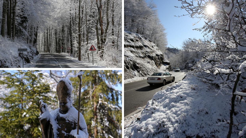 Fotografije Gorskog kotara pod snijegom izgledaju kao iz bajke