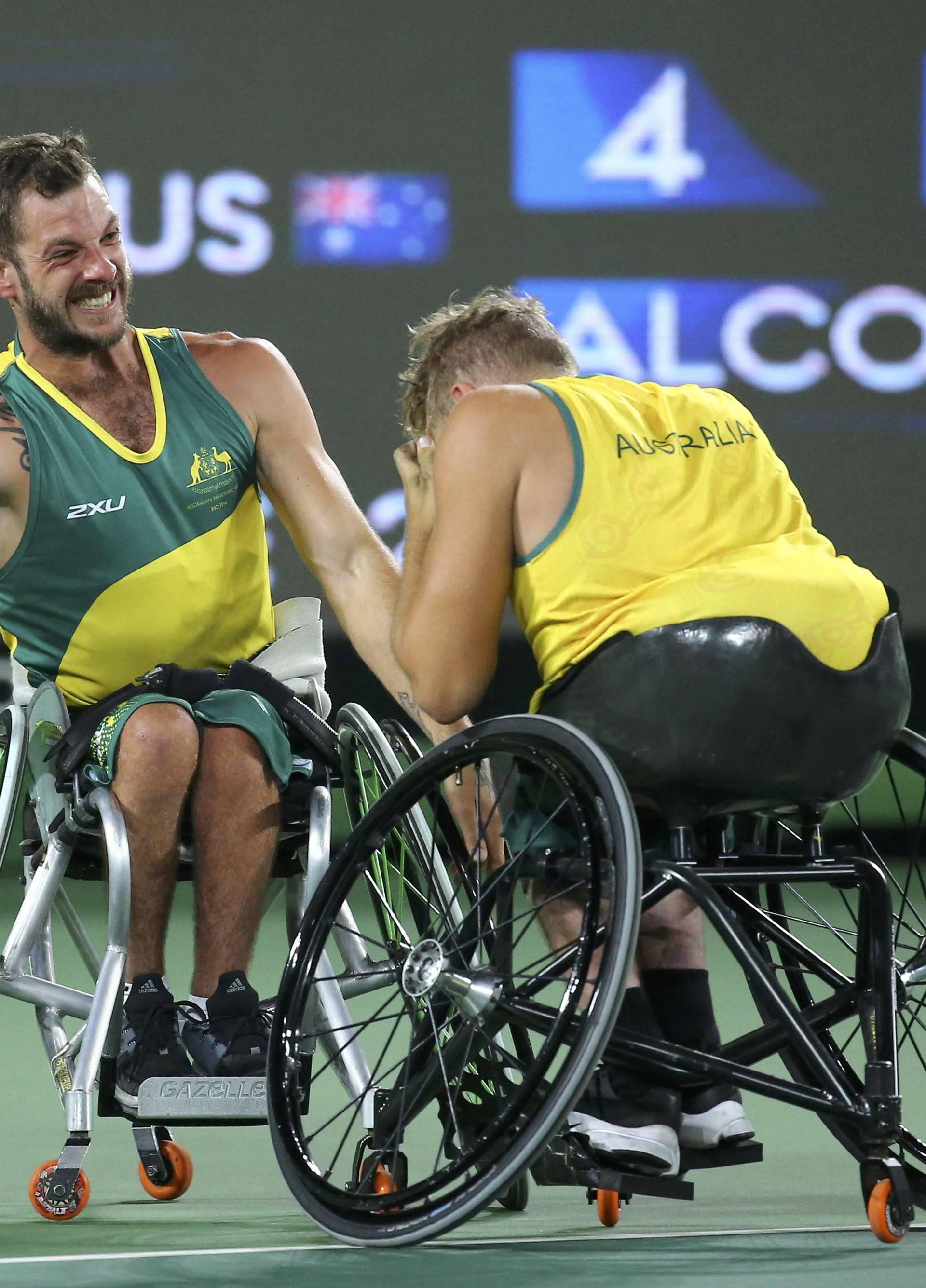 Wheelchair Tennis - Quad Doubles Gold Medal Match Final