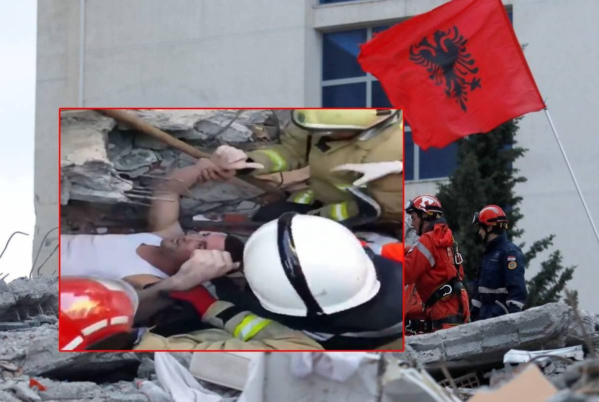Iz ruševina su spasili mladića: 'Dva dana je bio pod betonom'