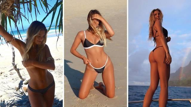 Hernandezova supruga ponovo golica maštu obožavateljima: Prekrila samo intimne dijelove
