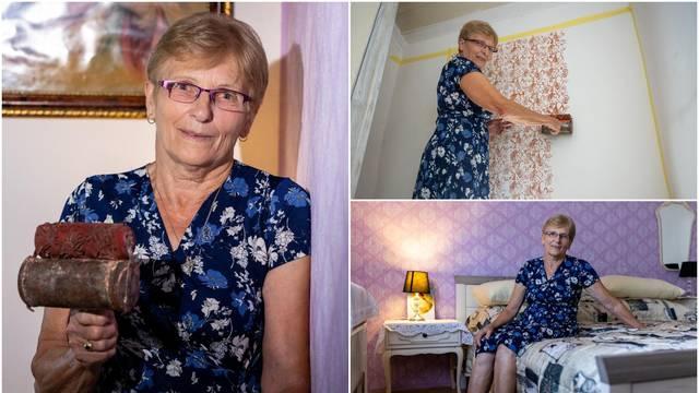 Agica je posljednja molerica u Slavoniji: 'Važna je tehnika, a sve što znam naučila me majka'