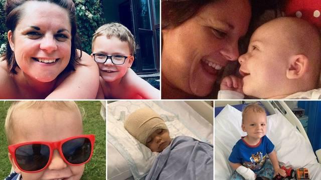 Beba se stalno smijala, a onda su joj otkrili tumor na mozgu