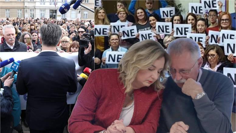 Nastavnici su rekli 'NE' Vladi: 'Frontalni štrajk se nastavlja'