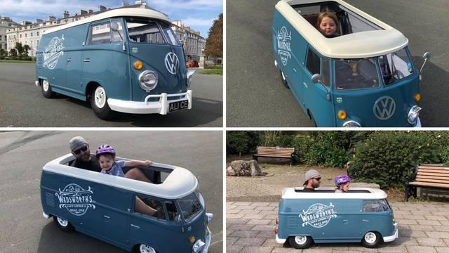 Tata pretvorio vozilo za invalide u maleni kamper za svoju kćer